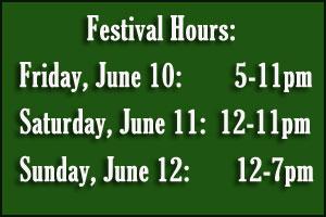 Festival Hours